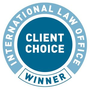 International Law Office (ILO) Client Choice Award
