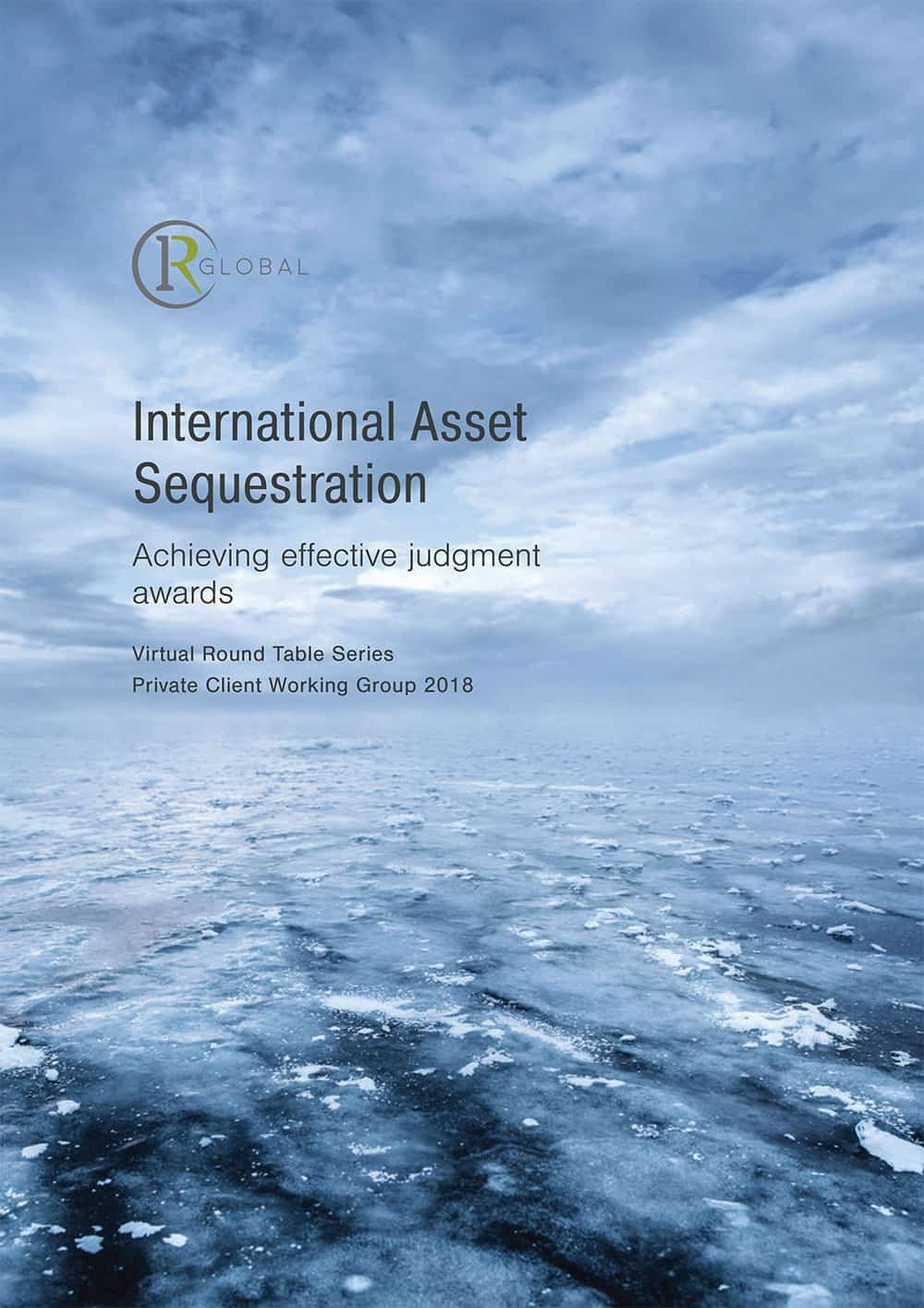 International Asset Sequestration Cover