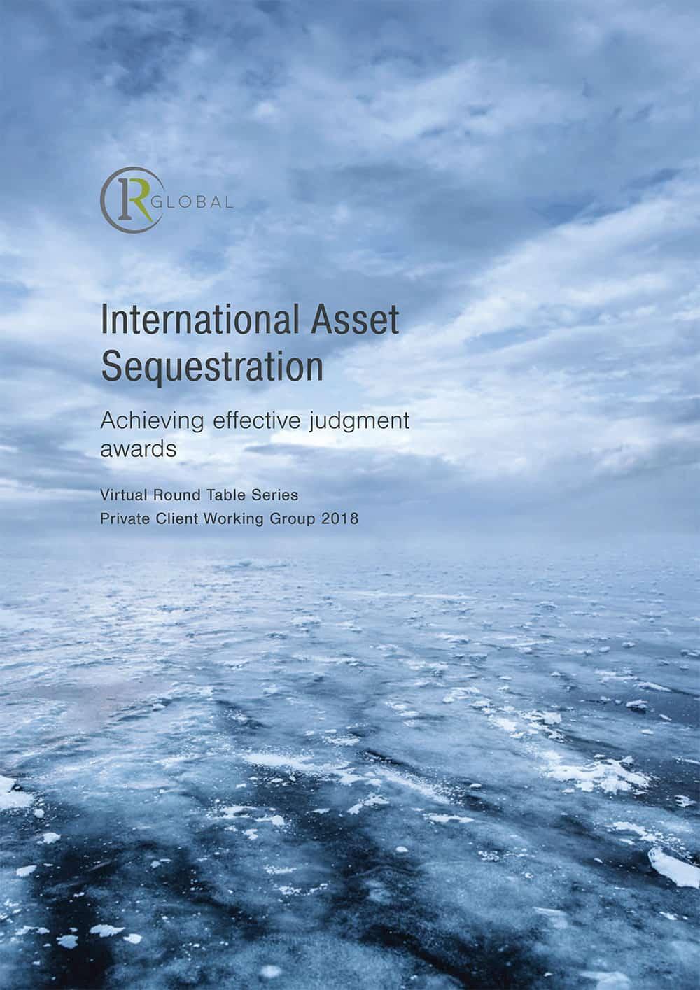 International Asset Sequestration Cover