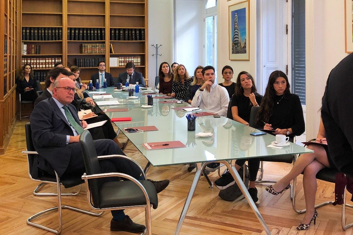 Juan Madrigal Delivered a Talk at Legal Mavens in Madrid