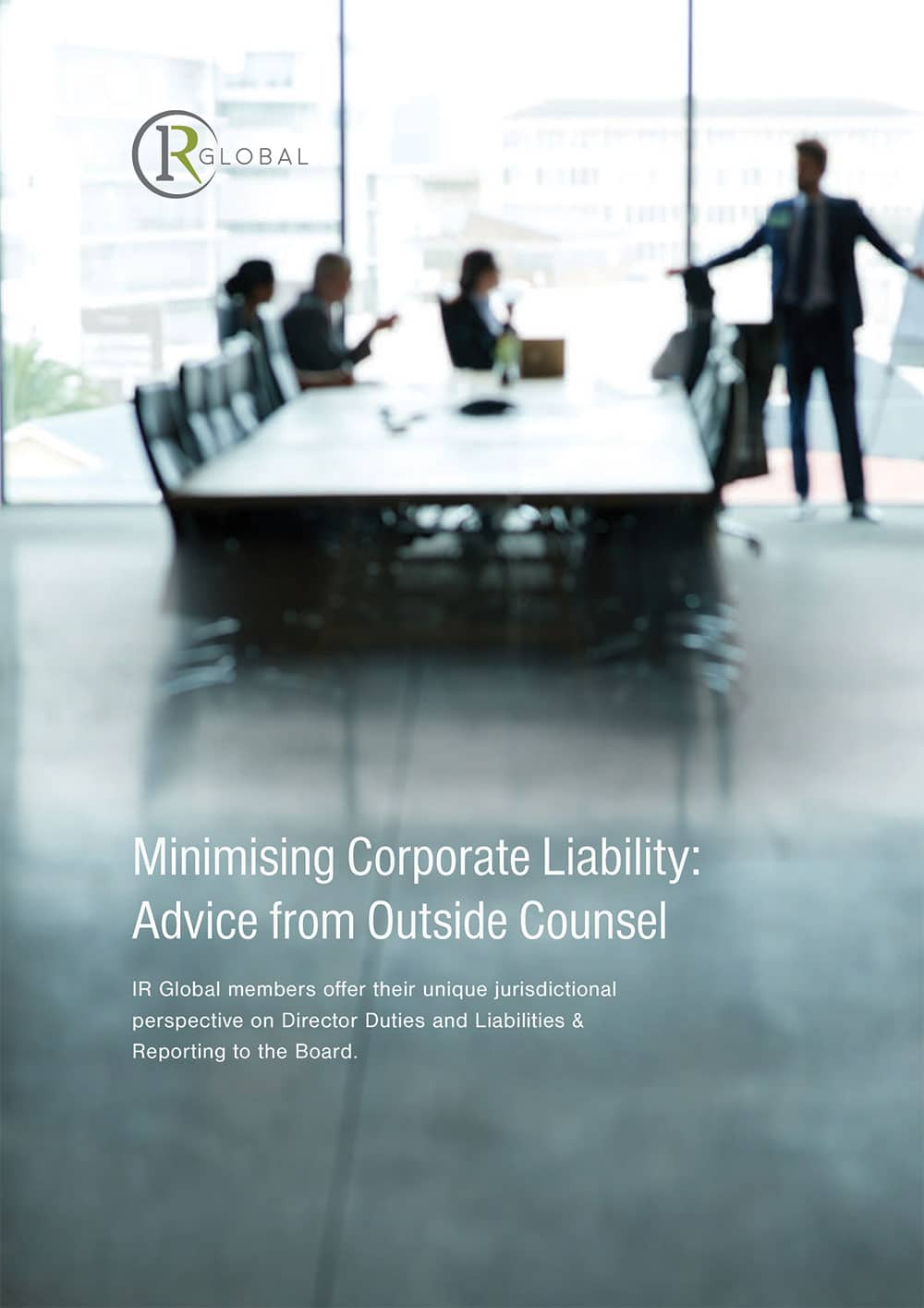 Minimising Corporate Liability Cover